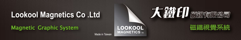 LOOKOOL Magnetic Graphics System